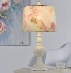 Silver Orchid Jaray White Candlestick Table lamp Retail 76 98