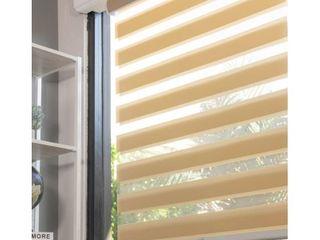CHICOlOGY Everyday Cordless Zebra Shades  light Filtering Retail 94 49