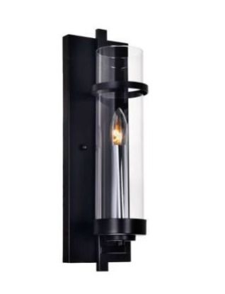 The Gray Barn Freckled Fanny 1 light Wall Sconce with Black Finish Retail 82 49