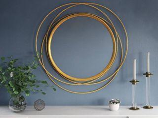 Mia Round Wall Mirror
