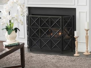 Margaret 3 Panel Fireplace Screen by Christopher Knight Home Retail 121 49