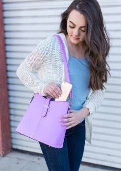 Women s Tote Shoulder Bucket Bag for daily use