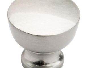 Southern Hills Satin Nickel Round Cabinet Knobs  Pack of 5