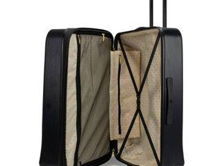 Badgley Mischka Diamond 24  Hard Expandable Spinner Suitcase Retail 94 99