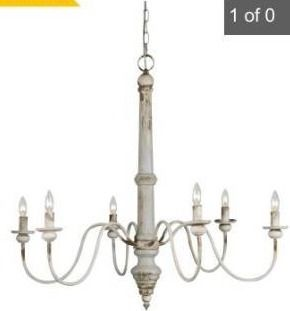 Sasha 6 light chandelier
