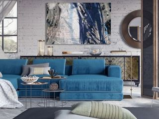 Blue Noise II  Premium Gallery Wrapped Canvas Retail 149 49