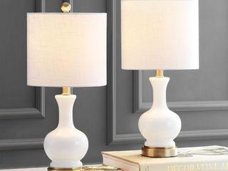 Jonathan Y Cox 22  led Table lamp   Set of 2