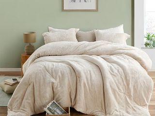 The Original Plush Coma Inducer Almond Milk Oversized Comforter Retail 131 49