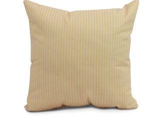 16 x 16 inch Ticking Stripe Outdoor Pillow