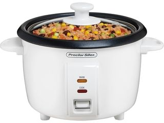 Proctor Silex White 8 Cup Rice Cooker