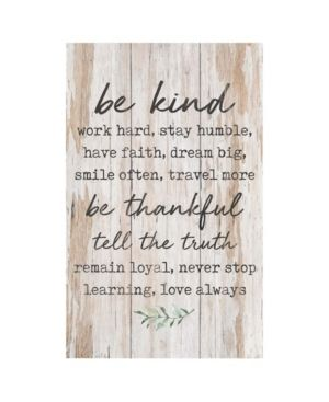 Be Kind  Work Hard  Stay Humble  Have Faith  Pallet Decor