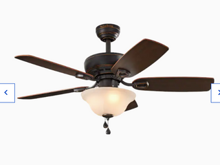 Harbor Breeze Sage Cove Oil Rubbed Bronze Finish Ceiling Fan