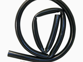 6 Ft  Dishwasher Drain Hose Pvc 7 8  788167 Includes 2 Clamps   lot Of 2