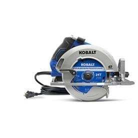 Kobalt 7 1 4 in 15 Amp Corded Circular Saw with Brake and Magnesium Shoe
