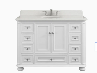 Wrightsville 48 In Vanity and 48 In Stone Top With Backsplash