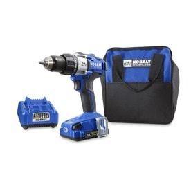 Kobalt 24 Volt Max 1 2 in Cordless Brushless Drill