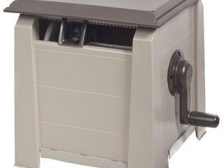 Ames 2398820 Neverleak Hose Box  175 Feet Hose  Tan and Brown