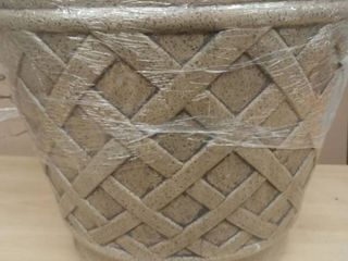 Style Selections Trellis Pattern Planter