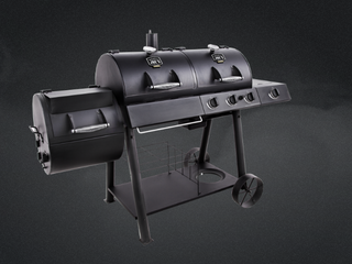 Oklahoma Joe s longhorn Combo Charcoal Gas Smoker   Grill  Retail  549 99