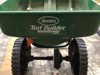 Scott s Turf Builder EdgeGuard Broadcast Spreader Mini