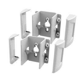 large lot of Freedom Set Secure 2 Pack White Vinyl Fence Brackets