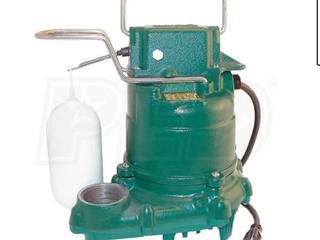 Zoeller Cast Iron Submersible Sump Pump