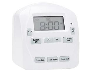 Prime 0869902 1 outlet Ez set 24hr Digital Indoor Timer   2 Pack 0869902