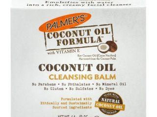 Palmer s Coconut Oil Formula Coconut Monoi Cleansing Balm 2 25 oz