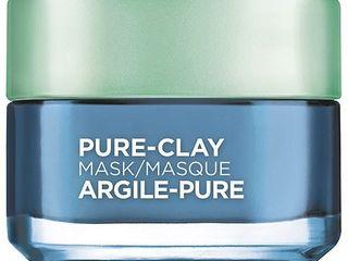 l Oreal Paris Pure Clay Face Mask   Clear   Comfort   1 7oz