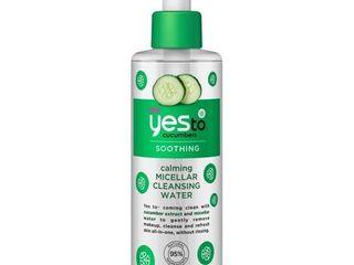 Yes To Cucumber Micellar Water 5 oz
