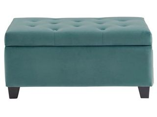 Upholstered Storage Ottoman  Retail 162 99