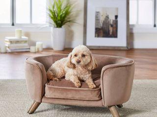 Enchanted Home Pet Romy Pet Sofa   Beige  Retail 92 99