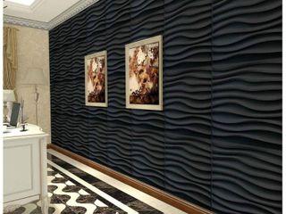 Art3d 3D Wall Panels PVC Wave Design V  32 Sq Ft  Retail 109 99
