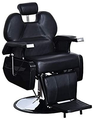 BarberPub All Purpose Hydraulic Reclining Barber Chair Salon Spa Chair Styling Equipment 2687  Retail 379 99