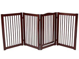 Primetime Petz 360 36 inch Configurable Wooden Pet Gate  Retail 129 97