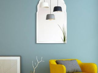 Arch Elegant Beveled Wall Mirror   Clear   24 x 40  Retail 251 49