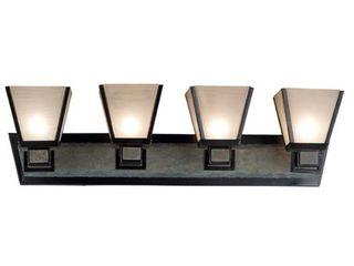 Paxton Dark Bronze 4 light Vanity  Retail 119 99