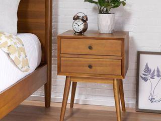 OkiOki Mid Century Nightstand  Retail 185 00