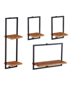 Holly   Martin Hezlyn Wall Shelf Set  Set of 4  Retail 84 99