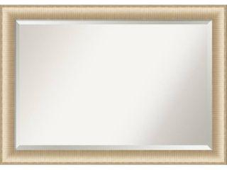 Porch   Den Paula Jean Brushed Honey Vanity Wall Mirror  Retail 137 99