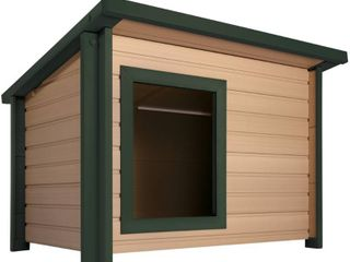 ecoFlEX Insulated lodge Style Dog House  Retail 269 98
