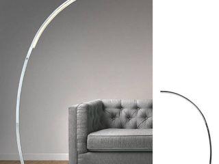 Strick   Bolton Zouma Chrome Dimmable lED Arc Floor lamp  Retail 299 99