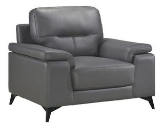 Socorro leather Chair  Retail 544 49
