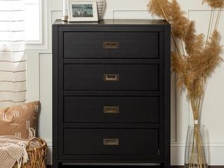 Carson Carrington Modern 4 Drawer Storage Chest  Retail 272 99