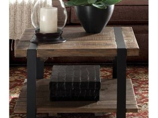 Carbon loft Kenyon Reclaimed Wood Rustic Square Coffee Table  Retail 281 49