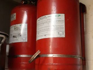 Ansul system for hood fire suppression