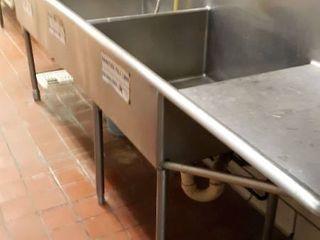 large 10  5 3 hole sink