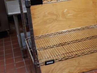 3 metro shelves 2 48 x 18 1 60 x 18