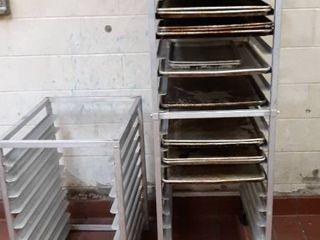 2 sheet pan racks