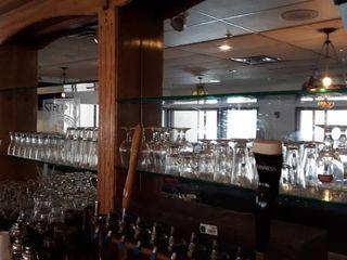 Glass wear on back bar